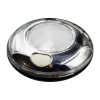 80mm Chrome Interior Light - Switched