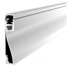 Skirting Mount LED Aluminium Extrusion - ALP076